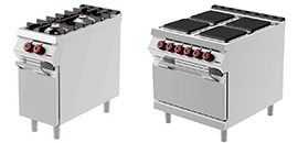 Cooking Range, Kitchen Equipment