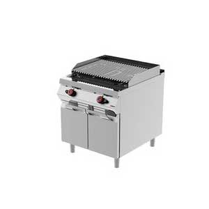 gas lava stone grill - desco
