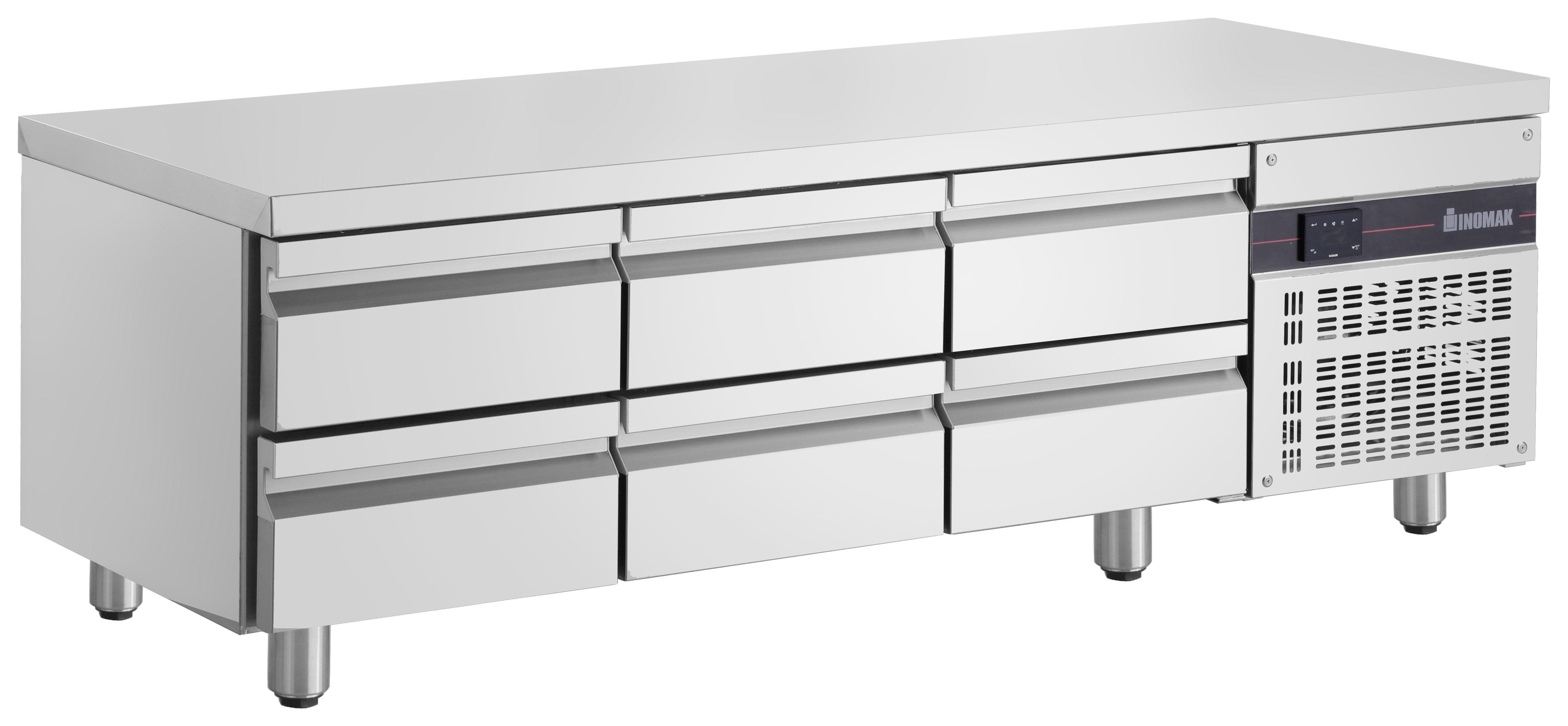 Lowboy refrigerator drawer