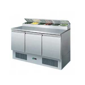 salad preparation chiller - LAVA INOX