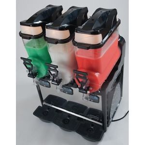 slush machine 3 bowls