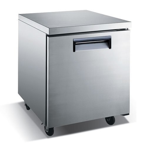 one door freezer under counter