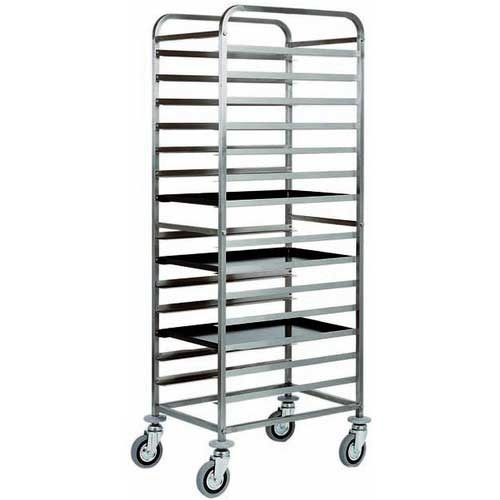 Tray trolley.