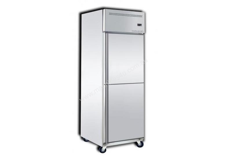 Upright freezer and chiller