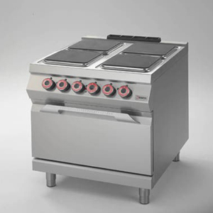 hot plate, on electric oven - desco